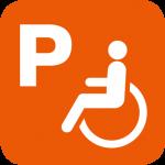 Behinderten-Parkplätze