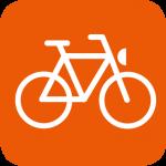 Überdachte Fahrradständer