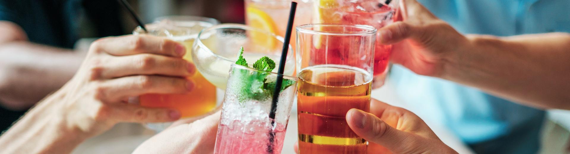 Zeit für Cocktails und Longdrinks