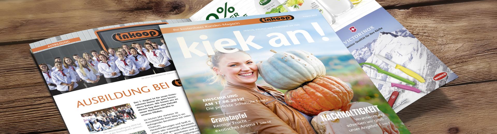 Ihr kostenloses Kunden-Magazin